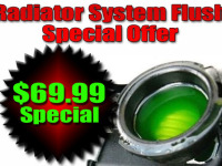 radiator flush special offer picture