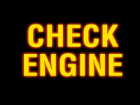 check engine light picture