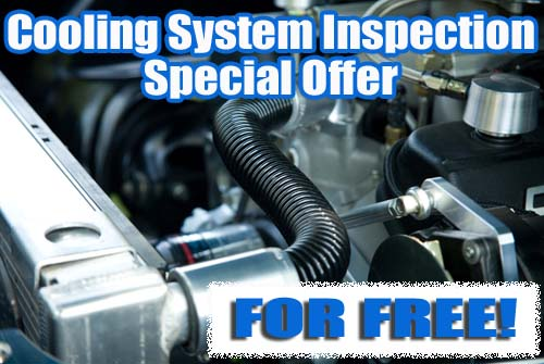 Free Car Cooling System Inspection