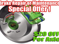 brake service special offer picture